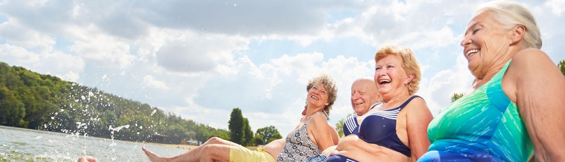 seniors en vacances